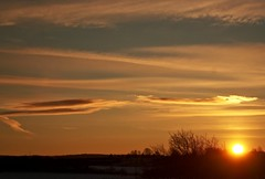 Good morning!! (Margot in Love) Tags: winter silhouette sunrise germany horizon sachsen sonnenaufgang horizont 2012 erzgebirge pentaxk10d