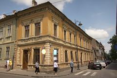 Sibiu corner (quinet) Tags: street house corner scene romania sibiu 2011