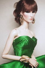 Jade (V. JHON) Tags: fashion gold elise jade jolie gown royalty earing fr2 vjhon