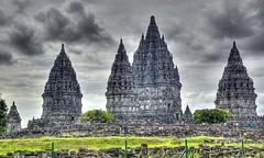 Prambanan Temple (Tempo Dulu) Tags: architecture indonesia temple hindu hdr jogyakarta jogya