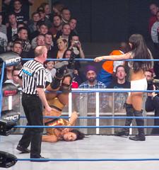 TNA Impact Wrestling TV taping - 2012 (simononly) Tags: uk england london tv women tara action live wrestling sting arena impact hulkhogan taping challenge wembley tna knockouts gailkim totalnonstopaction madisonrayne