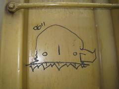 Flak (NEAR Zine) Tags: railroad art car train bench graffiti box tag trains bomb freight flak markal monikers moniker benched
