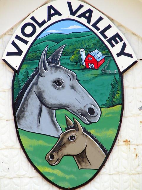 Viola Valley town logo