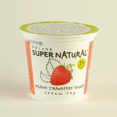 Organic Strawberry Yogurt