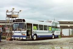 UTJ595M-02 (Ian R. Simpson) Tags: utj595m leyland national businesscommuter bus rally