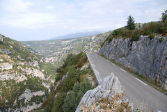 "The road from Sault, Luberon • <a style=""font-size:0.8em;"" href=""http://www.flickr.com/photos/75865141@N03/6814710963/"" target=""_blank"">View on Flickr</a>"