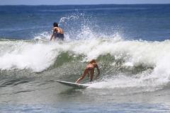 snapper female rider (rod marshall) Tags: sun australia bikini swell goldcoast snapperrocks superbank femalesurfer blondesurfer womensurfing