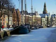 Hoge der Aa (Arend Jan Wonink) Tags: winter snow ice netherlands nikon sneeuw nederland groningen ijs groningenstad hogederaa