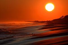 Smith Point Park (Darren-) Tags: ocean sea sun ny newyork color beach nature sunrise fun evening sand waves earth longisland nikond5100