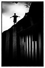 The Dark Compassion (Anoop Negi) Tags: portrait india white playing black girl silhouette rio dark children photography for photo media christ image photos delhi indian bangalore creative images best indie po smoky mumbai karnataka anoop indien bnw redeemer femmes inde violent negi   ndia ramanagaram photosof   ezee123  intia  n   imagesof     jjournalism devaramaraya  ndia n indi