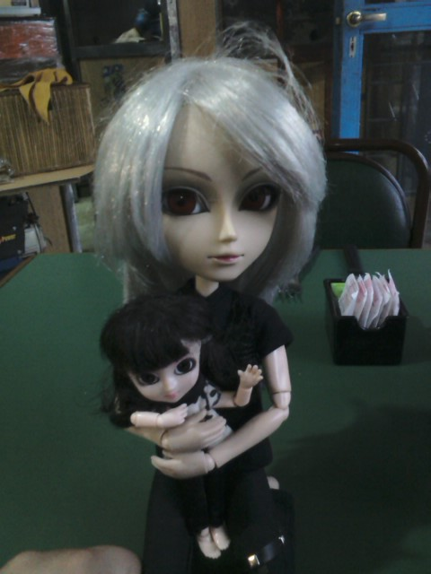 Damon y Arissa (taeyang lunatic Rabbit y little pullip Fanatica)