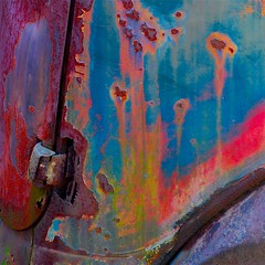 Oxidation (StephenReed) Tags: hinge abstract color art rust paint abstractart oxidiation nikond80 stephenreed