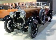 Hispano Suiza (gueguette80 ... non voyant pour une dure indte) Tags: auto old paris cars suiza salon hispano autos 2012 anciennes portedeversailles retromobile franaises rtromobile