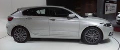 Qoros 3 hatch 02 -- Geneva Motor Show -- 2014-03-09 (NavDam84) Tags: 3 hatchback genevamotorshow worldcars qoros qoros3 2014genevamotorshow