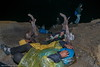 Istirahat di ceruk - DSCF0499 (franciscus nanang triana) Tags: trip travel indonesia volcano photo student foto tourist crater gunung sulfur jawa timur miners triana wisata nanang franciscus penambang upacara bendera ijen kawah banyuwangi belerang