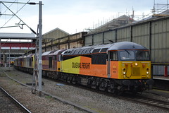 Colas Rail Freight / DB Schenker 66846 - 60056 - 60076 - 60047 - 60095 - 60002 - 56078 (Will Swain) Tags: nottingham travel england west station train cheshire diesel north transport shed rail trains db 66 class crewe trent depot stoke freight 60 56 nottinghamshire dbs schenker colas toton 60002 56078 60056 60047 60076 60095 66846