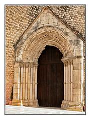 Convent of Saint Francis. Portal (Sergei P. Zubkov) Tags: portugal church october catholic santarm 2009