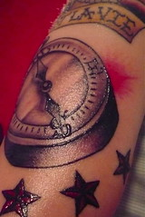compass with nautical stars tattoo designs (tattoos_addict) Tags: tattoo stars with designs nautical compass startattoo