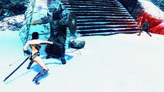 208 (Beth Amphetamines) Tags: blue winter wallpaper white snow star screenshot mod dragon tank time beth vampire traitor alien champion armor sword wars brunette fighting invasion blades distant chiss traveler serana meinthegame labyrinthian skyrim stormcloak evittalex