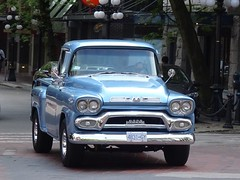 Vintage Truck (ampledriving) Tags: vancouver gmc zz