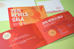 Invitation Package for 2016 Revels Gala (Cahoots Design) Tags: cambridge music chorus print design george community song salute arts celebration identity event invitation farewell orchestra benefit welcome invite organization gala branding composer wgbh nonprofit cahoots revels printdesign emlen cahootsdesign