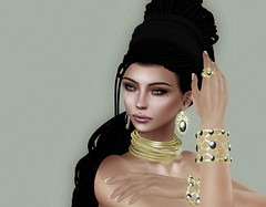BellaTrix (Eurdice Qork) Tags: portrait people woman sexy photoshop model ps sl secondlife soul chic jewels styling jewerly chopzuey