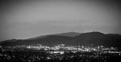 Freiburg at night (checkyourhead90) Tags: white black night nacht freiburg schnberg