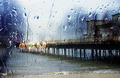 pier in the rain (Gill Stafford) Tags: rain wales pier image victorian photograph derelict conwy colwynbay northwales gillys gillstafford