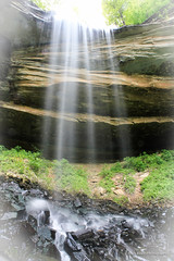 Chain Mill Falls - Mystical (Mark Birkle) Tags: county ohio summer cliff fall mill water beautiful stone creek river photo waterfall spring big dangerous stream image scenic picture large indiana chain hidden waterfalls valley jefferson tall flowing hanover biggest township largest tallest chainmill