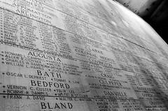 Virginia War Memorial (dpsager) Tags: bw film virginia richmond eos1v fujineopan400 virginiawarmemorial dpsagerphotography