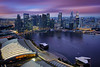 Aerial View of Singapore CBD Skyline, Marina Bay Esplanade and Raffles Place, Singapore (:: Artie | Photography :: Travel ~ Oct) Tags: city sunset building water skyline architecture modern night skyscraper marina canon buildings landscape island lights landscapes singapore waterfront view skyscrapers outdoor dusk cityhall central structures engineering aerialview places structure architectural commercial esplanade cbd residential developed 1740mm banks rafflesplace raffles dense singaporeriver artie marinabay lightings singaporecbd