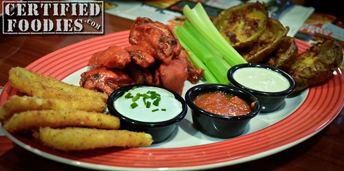 T.G.I. Friday's Three-For-All Platter - CertifiedFoodies.com