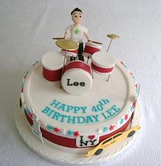 Drum kit cake (Fancy Cakes by Rachel) Tags: cake drum kit