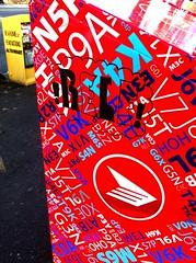 Relf (Grimey  Trains) Tags: street canada art vancouver graffiti sticker bc mail box relf