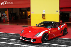 Five Nine Nine XX (Raphal Belly) Tags: red 6 black cars car del racetrack rouge photography eos photographie 21 corse xx ferrari belly exotic 7d enzo passion programs raphael rb evo autodromo supercars clienti noire raphal mugello finali 599 2011 fxx evoluzione programmes mondiali egarage 599xx egaragecom