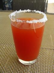 Wake up (knightbefore_99) Tags: food hot tomato mexico drink sauce mary salt tasty mexican oaxaca vodka bloody sal huatulco vitamin tangolunda