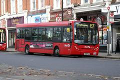 First 44111 (First London) YX09FLC (Howard_Pulling) Tags: uk november autumn bus london buses station canon gare first bahnhof ealing westlondon ealingbroadway adl 2011 firstlondon 44111 400d enviro200 howardpulling routee7 servicee7 yx09flc