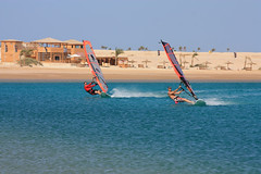 Kite House Soma Bay - windsurfers
