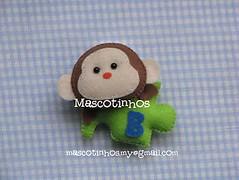 Mimo beb (Mascotinhos em Feltro) Tags: batizado felt feltro aniversrio nascimento maternidade chaveiro lembrancinha mascotinhos