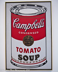 Andy Warhol - Campbell's soup can (FJT Photography) Tags: california county art museum canon tomato soup la photo losangeles artwork gallery contemporary pic can andrew photograph andywarhol 28 campbells moca lacma 1964 1755 warhola 60d