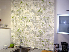 "Cortinas para Cocina, Visillos y Estores con tejidos coloridos y resistentes • <a style=""font-size:0.8em;"" href=""http://www.flickr.com/photos/67662386@N08/6476381953/"" target=""_blank"">View on Flickr</a>"