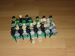 minifigs (The Formidable Llama) Tags: army lego military vietnam minifigs sas cod swat mw2 mw3