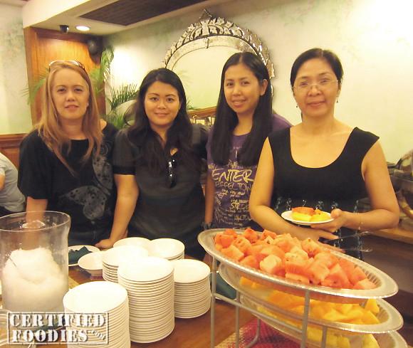 Us four at Lola Maria's