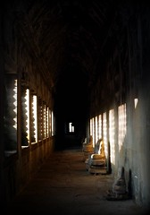 The Depths of Angkor (Keith Mac Uidhir  (Thanks for 2.5m views)) Tags: world blue windows light sky heritage stone stairs temple site ruins asia asien cambodge cambodia kambodscha cambodian khmer shadows god buddha buddhist south religion ruin corridor buddhism angkorwat hallway unesco east staircase siem reap gods asie siemreap angkor wat hindu hinduism deity aasia asya  hindi azia azi kamboja sia kambodja  camboya   cambogia  chu campuchia kambodzsa  kamboda  kamboya   zsia  kamboda    mygearandme mygearandmepremium