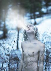 Frost (Brad.Wagner) Tags: white snow cold fog hair frost body breath freezing jackfrost ifieverdyemyhairimtotesgoingtogowhite thiswouldhavebeensooooooomucheasierifididnthavecurlyhairugh