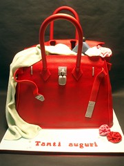 BIRKIN BAG/MALA (fati dream cakes) Tags: red flower bag flor pearl hermes mala birkin prolas vermeho
