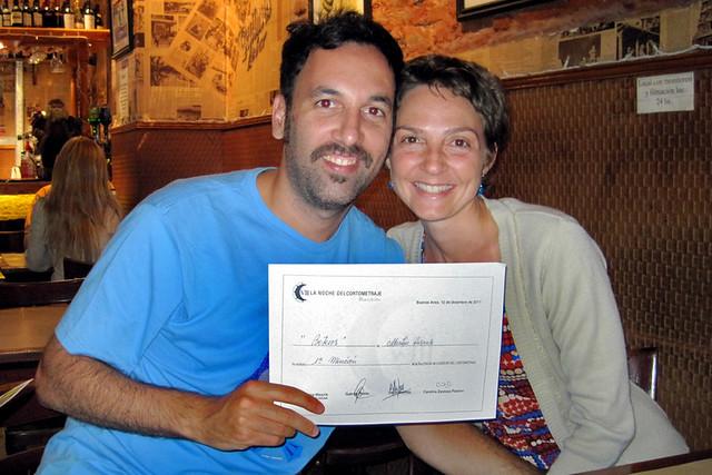 BOTEROS 1º Mención en LA NOCHE DEL CORTOMETRAJE 2011