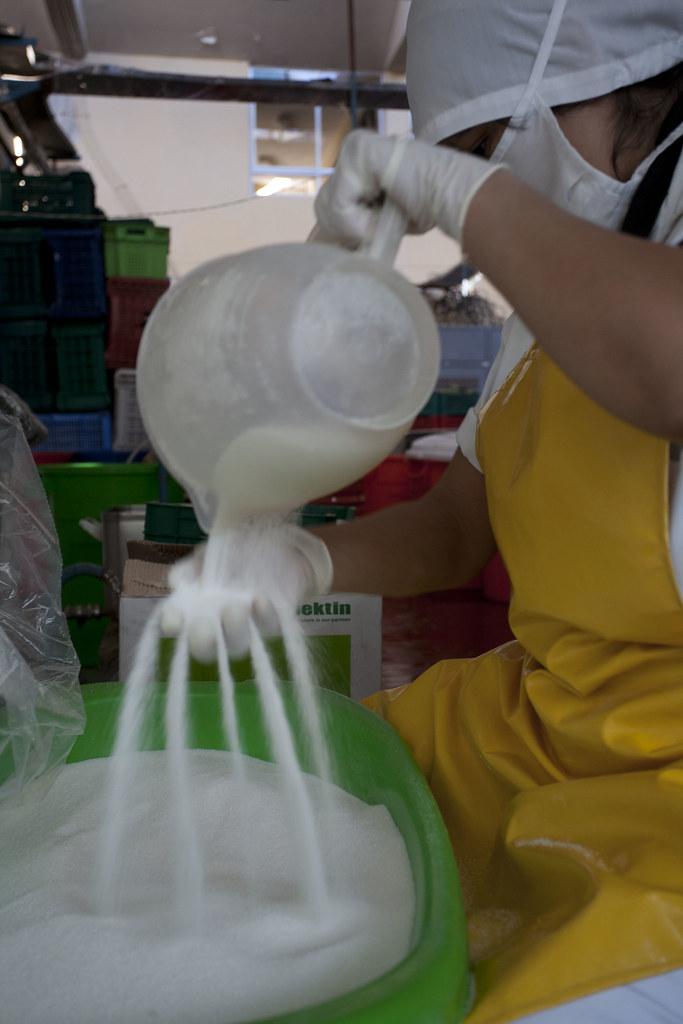 Fabrique confiture CEPICAFE - Controle qualité du sucre