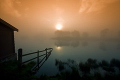 Fog at the Boathouse (PeterYoung1) Tags: mist fog scotland scenic wow1 wow2 wow3 wow4 wow5