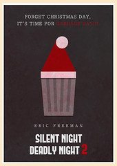 Silent Night Deadly Night 2 (1987) (Jon Glanville) Tags: santa garbageday ericfreeman christmasfilms minimalistfilmposter silentnightdeadlynight2 rickycaldwell